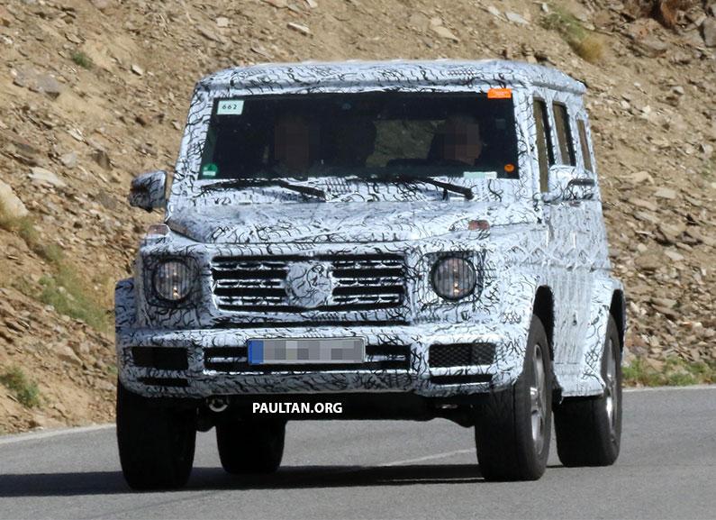 Mercedes-Benz G-Class nhẹ hơn, hiện đại hơn ra mắt vào cuối năm nay