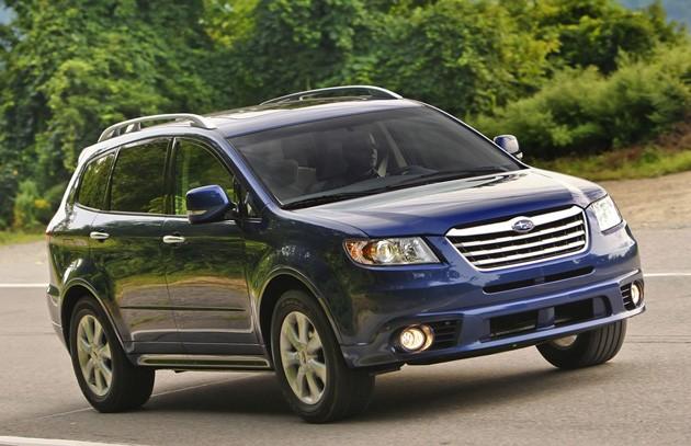 Triệu hồi xe Subaru Tribeca đời 2011-2015 vì lỗi liên quan đến túi khí