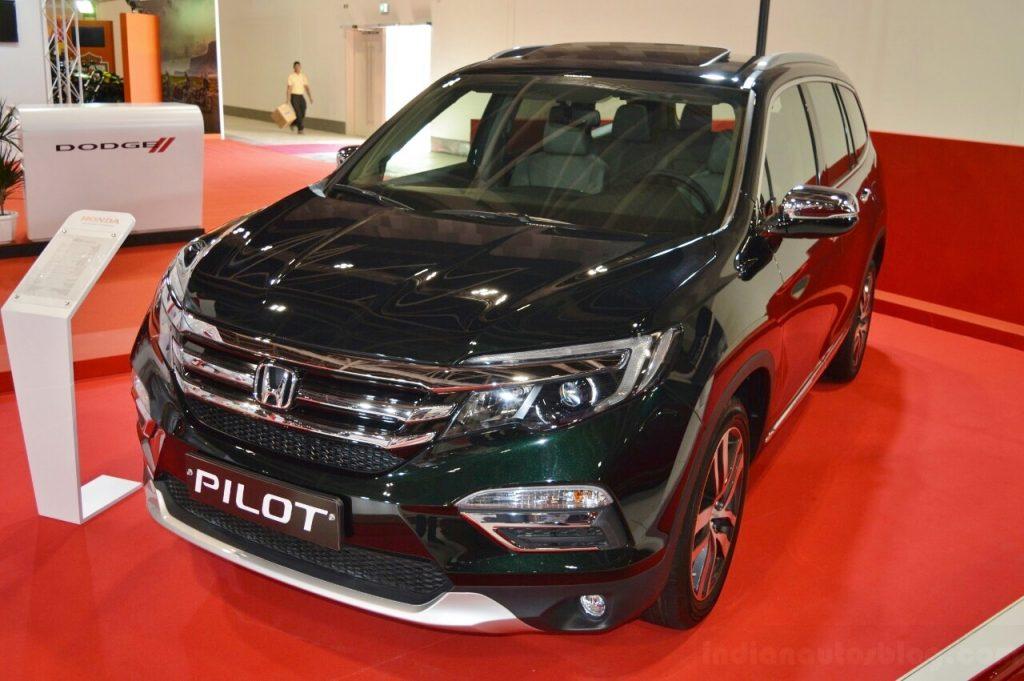 Honda Pilot thế hệ mới sẽ trình làng vào năm tới