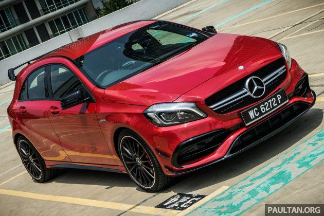 Mercedes-AMG A45 thế hệ mới sẽ mạnh hơn 400 mã lực