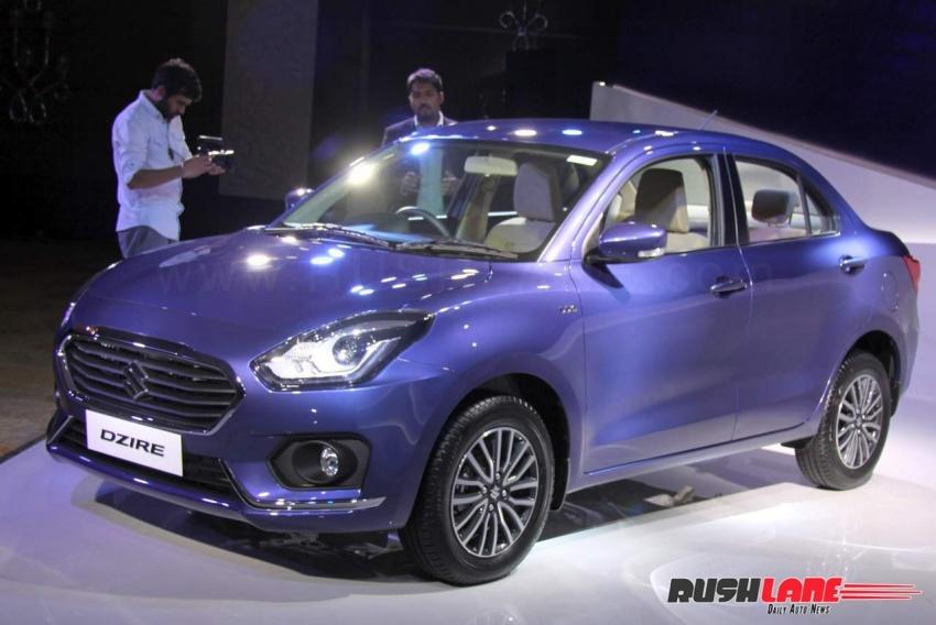 Sedan giá rẻ Suzuki Dzire ra mắt