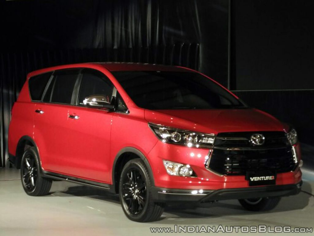 Toyota Innova phiên bản đặc biệt Crysta Touring Sport sắp được ra mắt