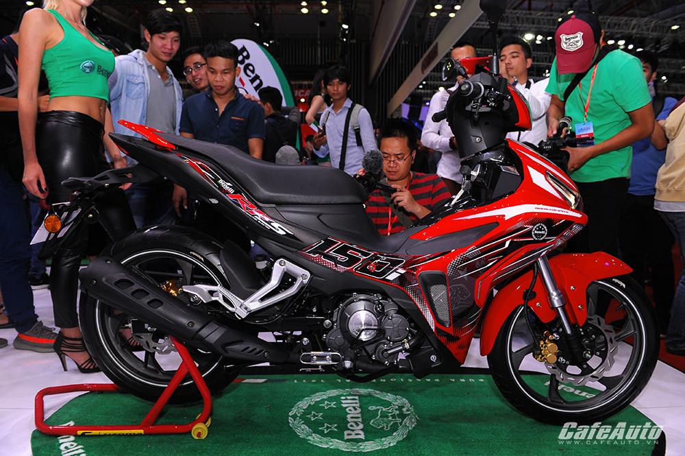 Tân binh Benelli RFS 150i ra mắt thị trường xe côn tay cỡ nhỏ Việt Nam