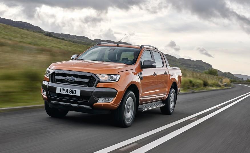 Ford Ranger 2019 trang bị hộp số 10 cấp sắp được trình làng
