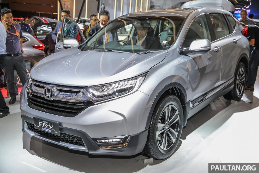 Honda CR-V 1.5L Turbo chạy thử nghiệm tại Malaysia