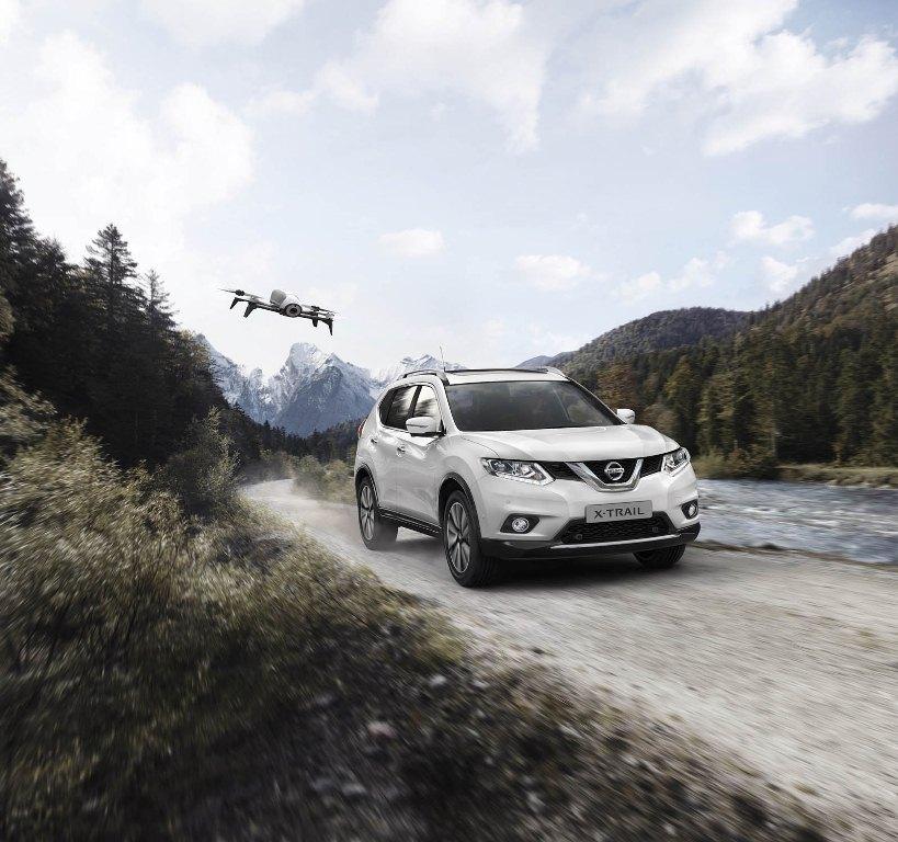 Nissan tích hợp Flycam cho X-Trail bản đặc biệt