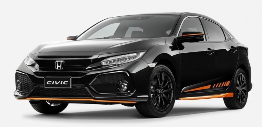 Phiên bản đặc biệt Honda Civic Hatchback Orange chỉ sản xuất 100 chiếc