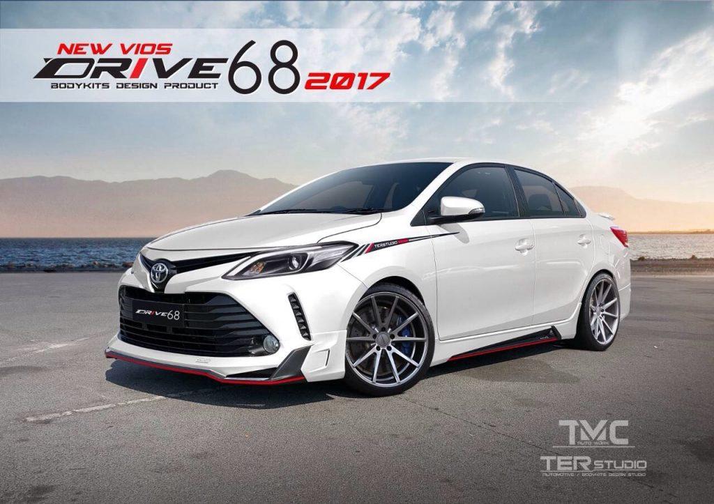 """Toyota Vios 2017 """"chất hơn"""" với bộ body kit Ter Studio"""