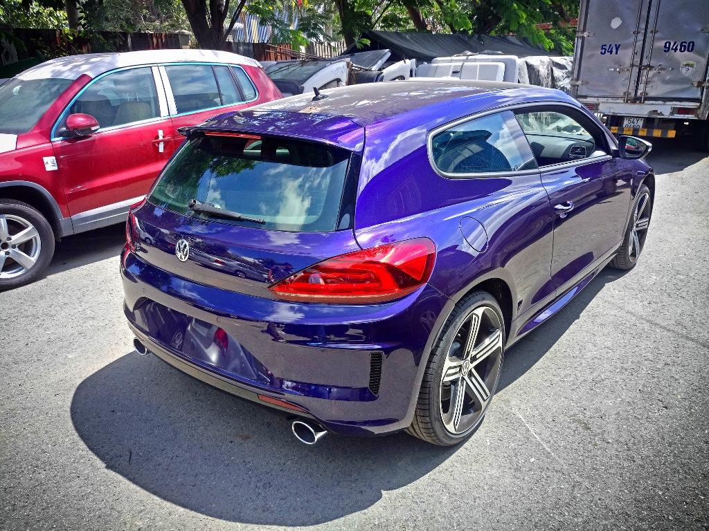 Cận cảnh Volkswagen Scirocco R 2017 đầu tiên tại Việt Nam