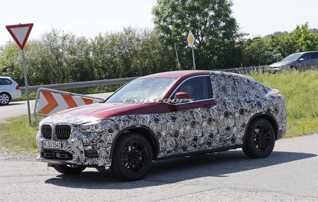 BMW X4 2018 sẽ ra mắt vào tháng 6/2018