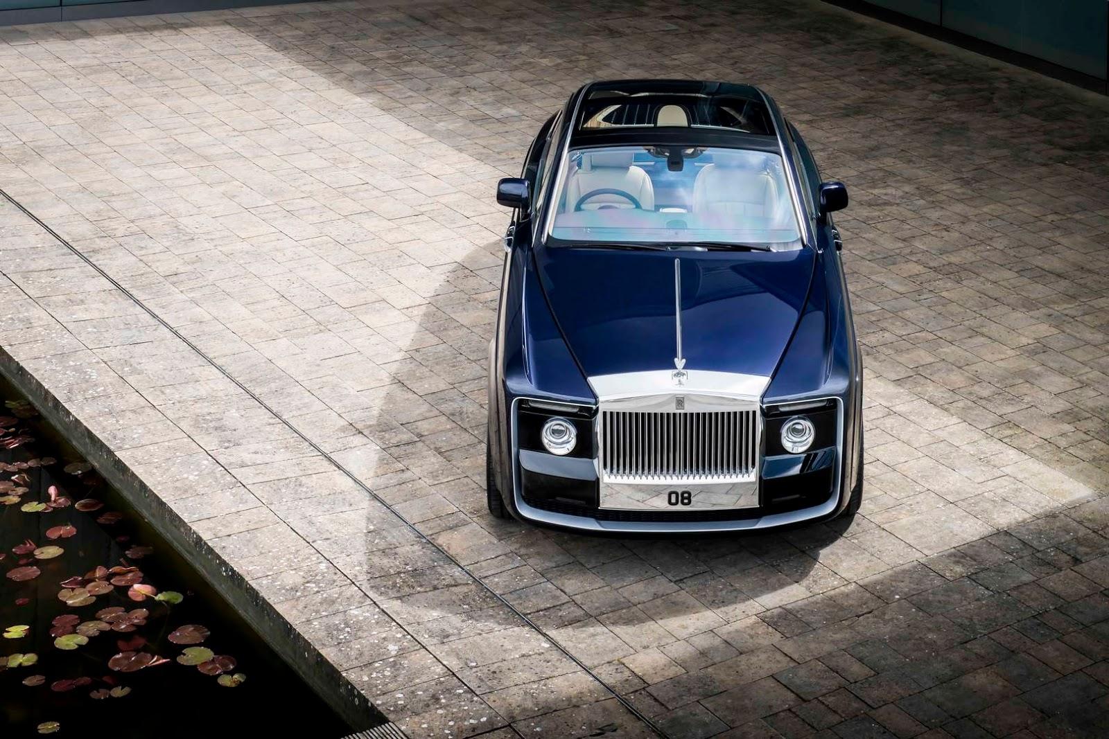Rolls-Royce Sweptail – kiệt tác có giá 13 triệu USD