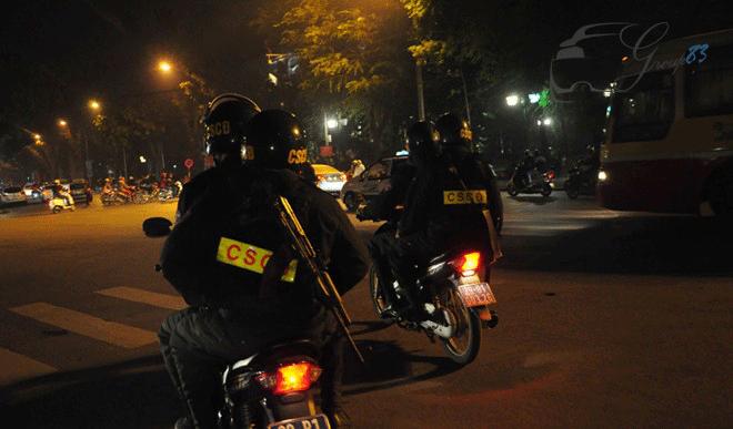 Quyền hạn của cảnh sát cơ động?