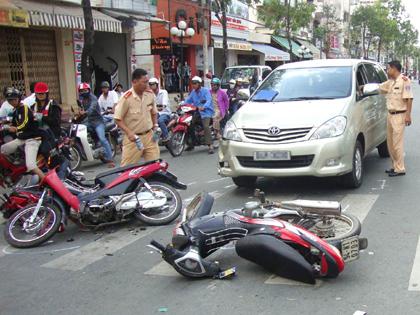 Tai nạn giao thông trên đường đi làm có phải là tai nạn lao động?