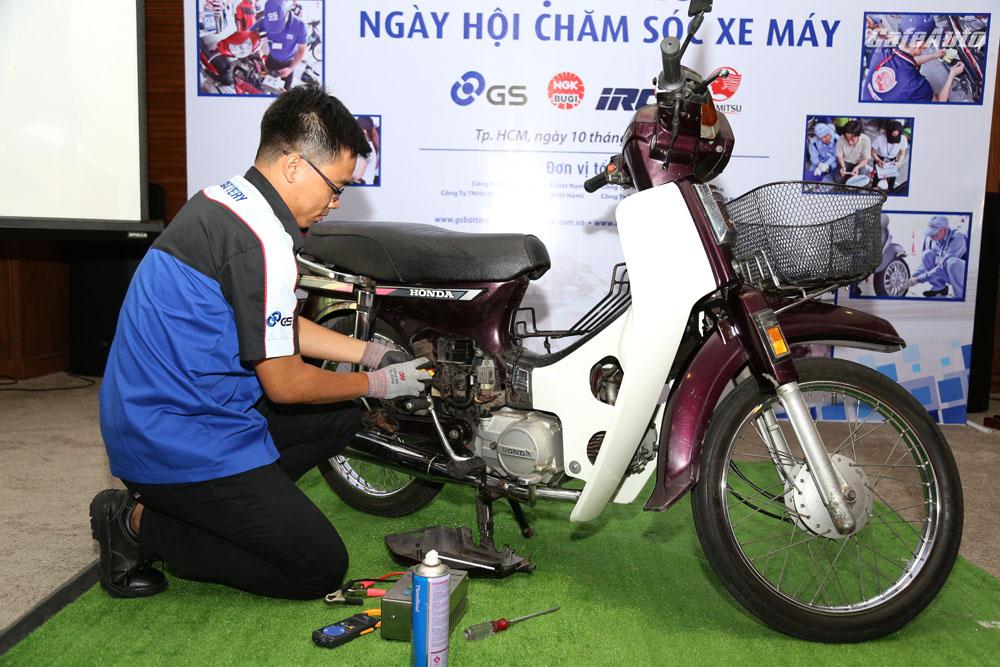 Đa số người sử dụng xe máy không bảo dưỡng xe định kỳ