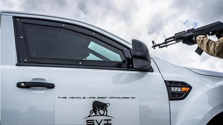 Ford Ranger chính thức có bản bọc thép chống đạn nhưng chỉ dành riêng cho thị trường này
