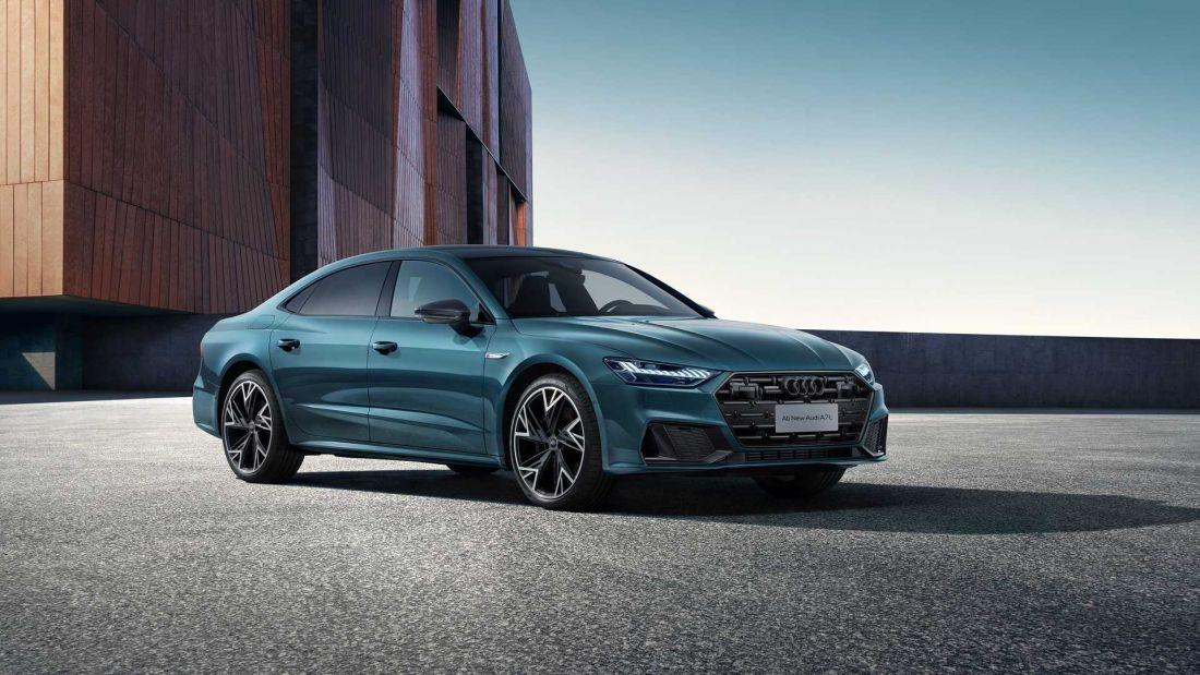 Hé lộ diện mạo Audi A7L 2021: Dài hơn, động cơ mạnh hơn nhưng chưa có bản chạy điện để đấu Mercedes EQS