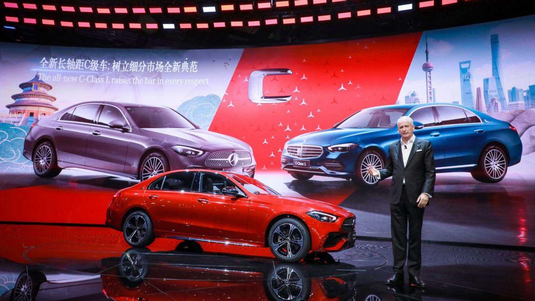 Mercedes-Benz C-Class 2021 tung phiên bản mới chiều sở thích 'dài và rộng' của khách hàng châu Á