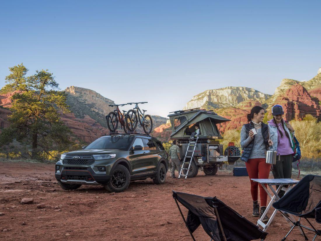 Ford Explorer 2021 tung phiên bản mới chuyên đi địa hình, khách hàng ngóng chờ từng ngày về Việt Nam