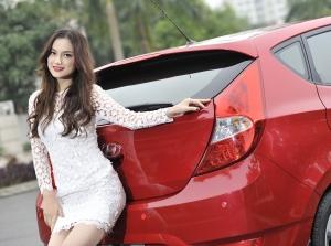 Đón Noel cùng người đẹp Trang Hà