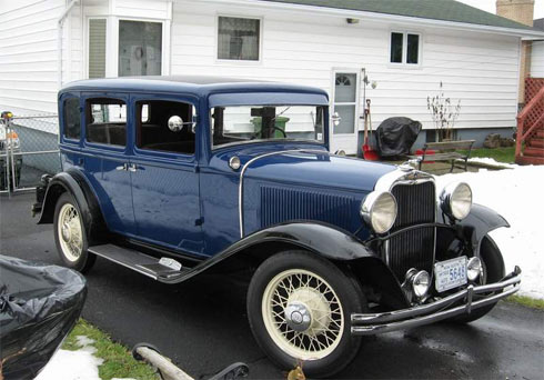 Dodge sedan 1933
