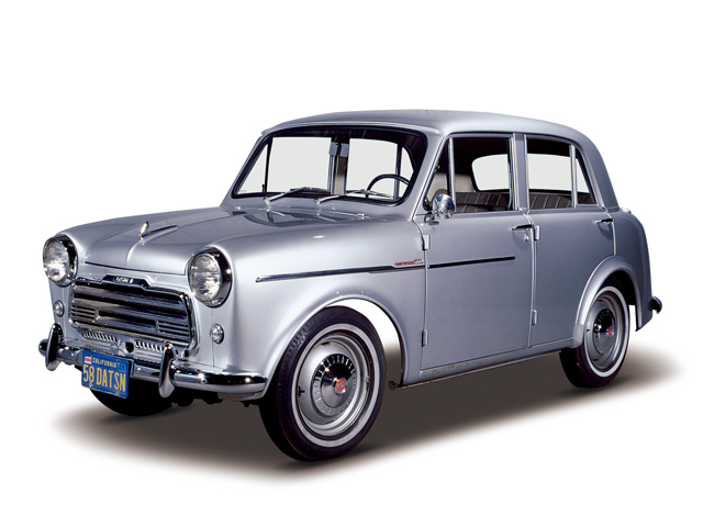 1958 Datsun 1000 - Máy Type C (4-cyl. in line, OHV), 988cc, 27kW (37PS)