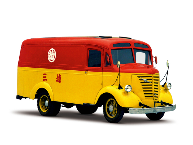 1937 NISSAN Van - Máy Type AT (6-cyl. in line, SV), 3,670cc, 63kW (85PS),