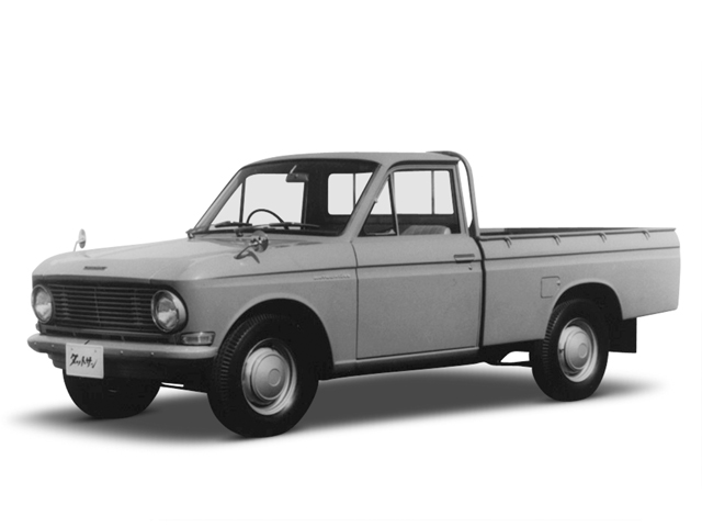 1966 Datsun Truck 1300 - Máy J (4-cyl. in line, OHV), 1,299cc, 46kW (62PS)