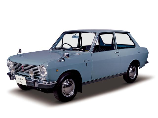 1966 Sunny 1000 Deluxe - Máy A10 (4-cyl. in line, OHV), 988cc, 41kW (56PS), tốc độ tối đa 135kmh