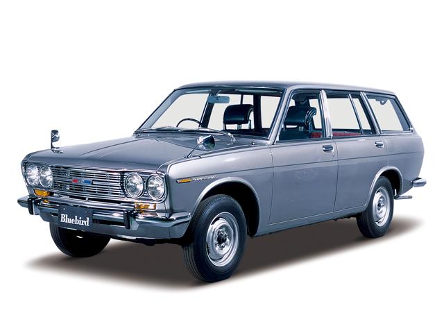 1967 Bluebird Estate Wagon - Máy L13 (4-cyl. in line, OHC), 1,296cc, 53kW (72PS), tốc độ tối đa 145kmh