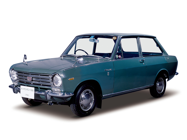 1967 Sunny 1000 Sports Deluxe - Máy A10 (4-cyl. in line, OHV), 988cc, 41kW (56PS), tốc độ tối đa 135kmh