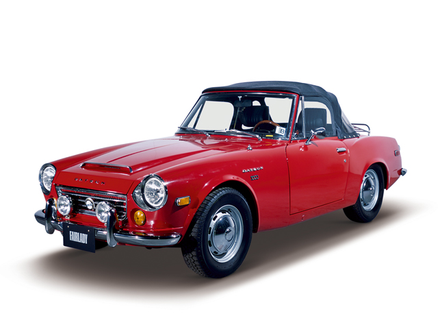 1968 Fairlady 1600 - Máy R (4-cyl. in-line, OHV), 1,595cc, 66kW (90PS)