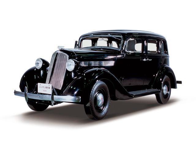 1938 NISSAN Passenger Car - Máy Type A (6-cyl. in line, SV), 3,670cc, 63kW (85PS), tốc độ tối đa 80kmh