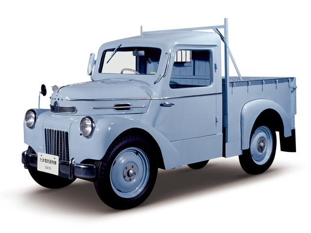 1947 Tama Truck - Máy E8 (4-cyl. in line), 760cc