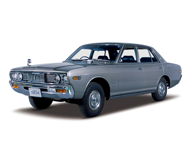 1972 Gloria 4-door Sedan Custom Deluxe - Máy L20 Single (6-cyl. in line, OHC), 1,815cc, 85kW (115PS)