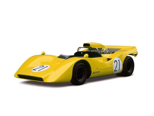1969 Nissan R382 - Máy GRX-3 (V12, DOHC), 5,954cc, 441kW (600PS)