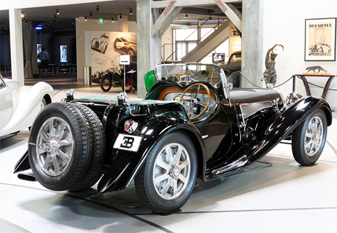 Bugatti T54 Uhlik Roadster 1931