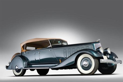 Chrysler Custom Imperial Pheaton 5 chỗ đời 1933.