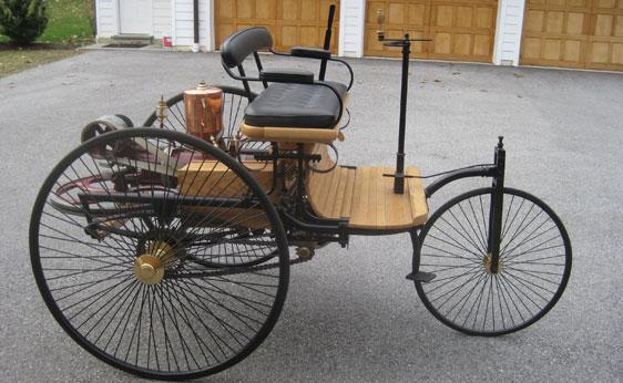 1886 Benz Patent Motor-Wagen Replica