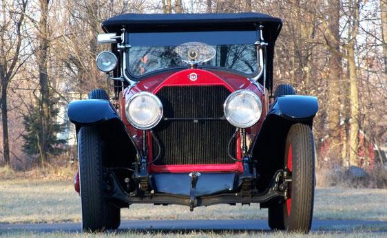1920 Stutz Model H Seven-Passenger Touring