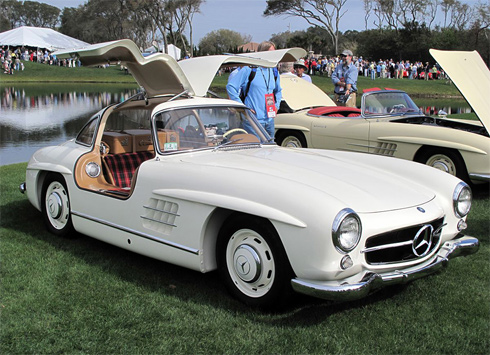 Mercedes 300 SL coupe.
