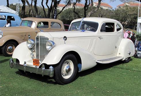 Packard Twelve 1934 - một trong số những thiết kế tuyệt vời nhất của hãng xe Mỹ Packard.