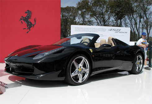 Ferrari 459 Spider 2011.