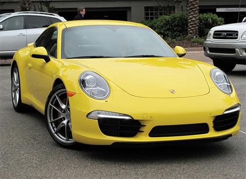 Porsche 911 Carrera S coupe 2012.