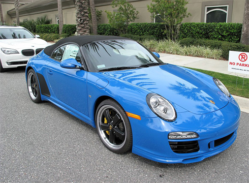Porsche 911 Speedster 2011.