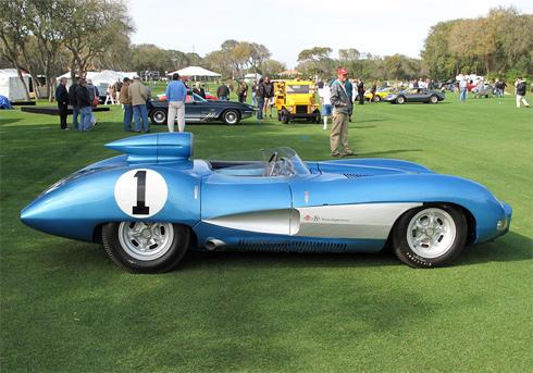 Chevrolet Corvette SS đời 1957.
