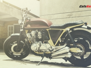Honda CB750F 1980 độ phong cách Street Tracke