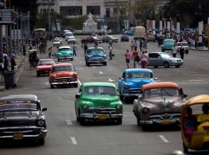 Xe cổ tại Cuba