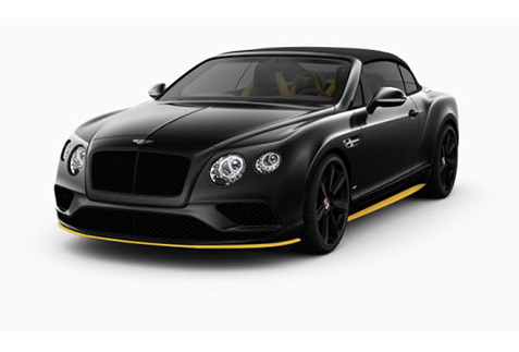 Bentley Continental GT V8 Speed Sedan 2017