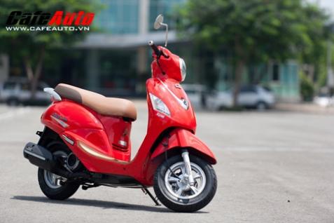 SYM Attila Elizabeth EFI 2012 – Xe tay ga tầm trung hấp dẫn