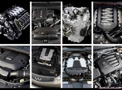 10 động cơ tốt nhất năm 2012